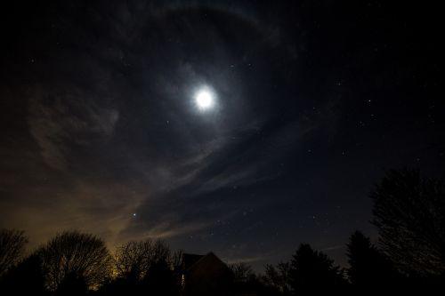 moon astronomy celestial