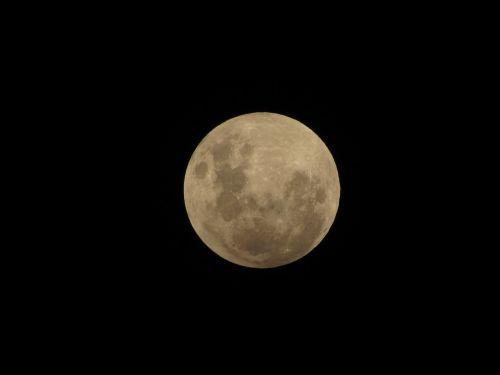 moon penumbral eclipse sky