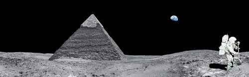 moon pyramid egypt