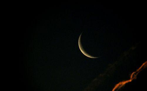 moon sickle crescent moon