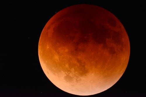 moon eclipse space