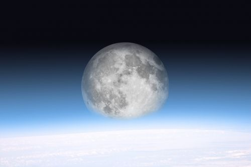 moon space all