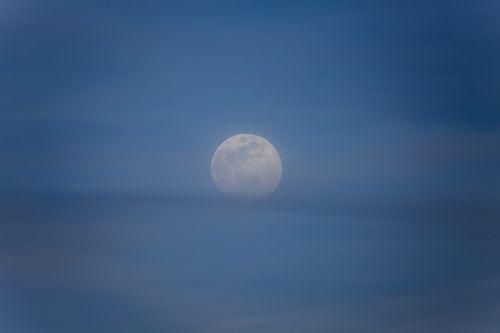 moon moon rise sky