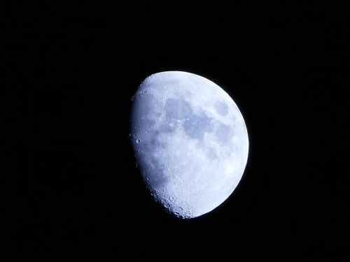 moon black night