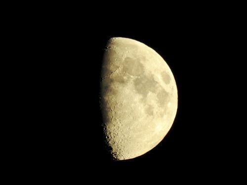moon crescent night