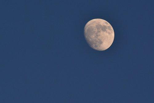 moon  increasingly  astronomy