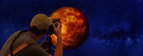 moon  blood moon  photographer
