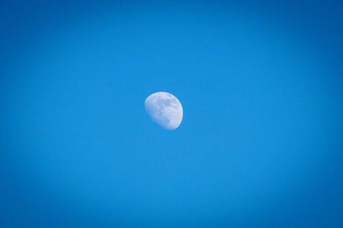 moon  sky  day