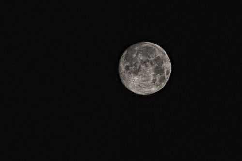moon super moon space