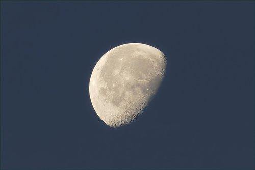 moon  at sunrise  lunar