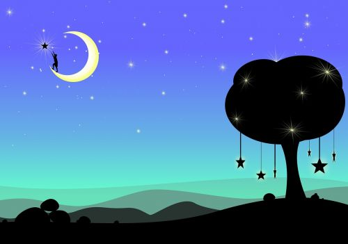 moon dream fantasy