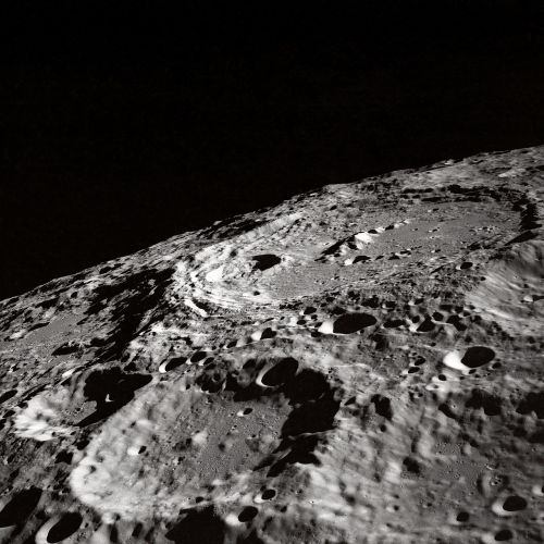 moon moon craters crater