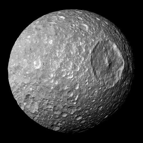 moon saturn mimas