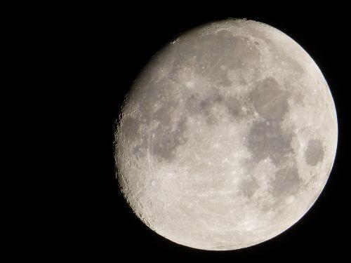 moon gibbous handheld