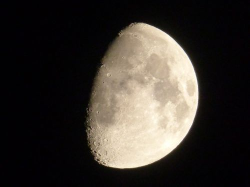 moon gibbous waning
