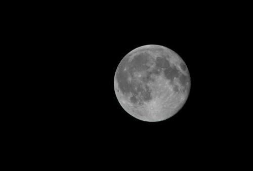 moon close up night