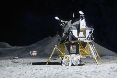 moon landing lunar module eagle space travel