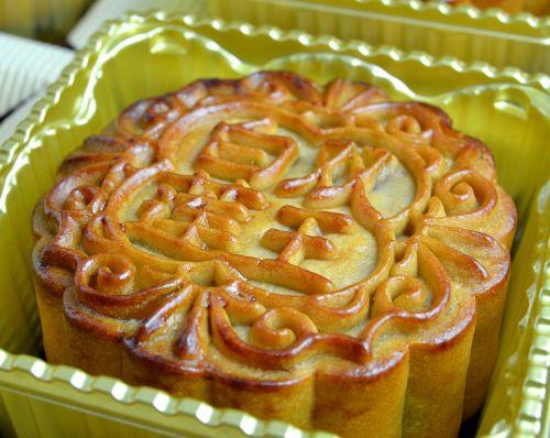 mooncake lotus filling pastry