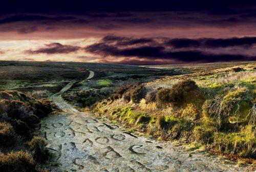 kiauras,trasa,kraštovaizdis,kaimas,kelionė,kelias,saulėlydis,kelias,kelias,lauke