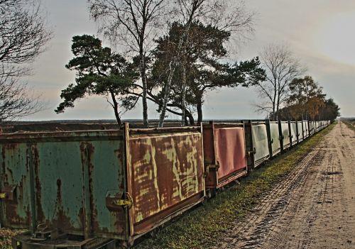 moor railway moor wetland
