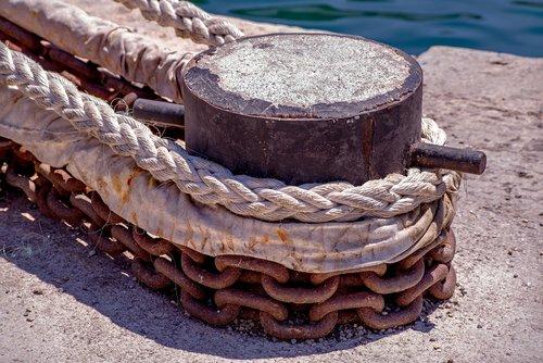 mooring  rope  cord