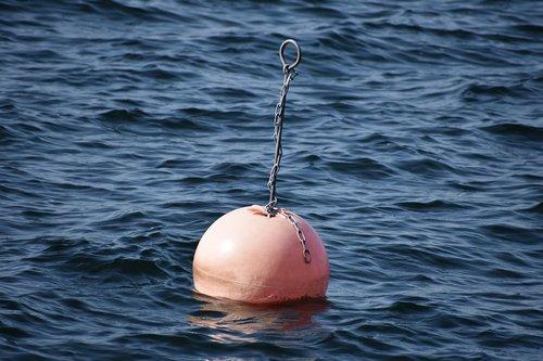 mooring buoy  sea  water
