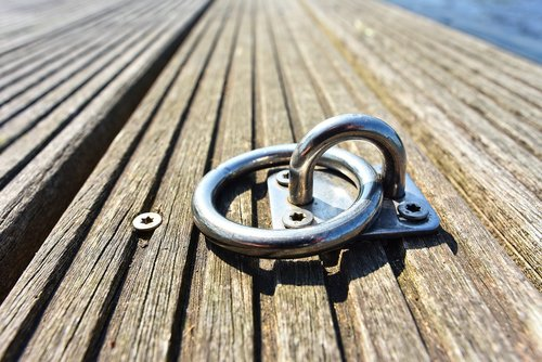 mooring ring  ring  secure