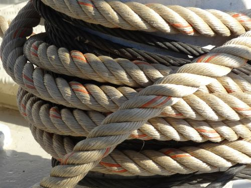 mooring rope marine bollard