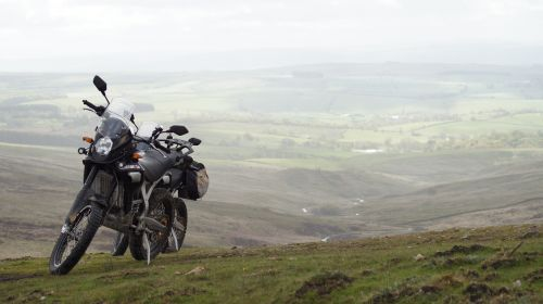 moorland motorcycle pennines
