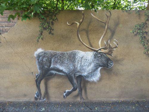 moose wall art wall