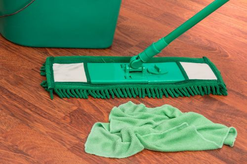 mop bucket chores