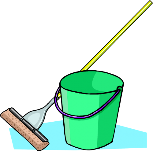 mop bucket mopping