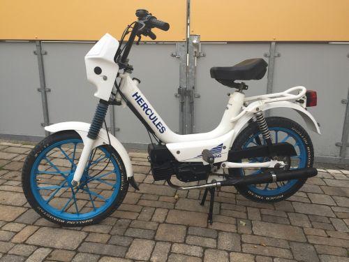 moped hercules white