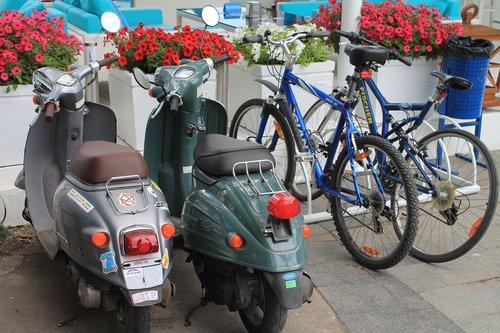 moped  mopeds  bike