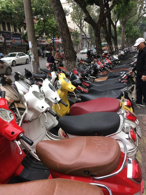 mopeds vietnam scooter