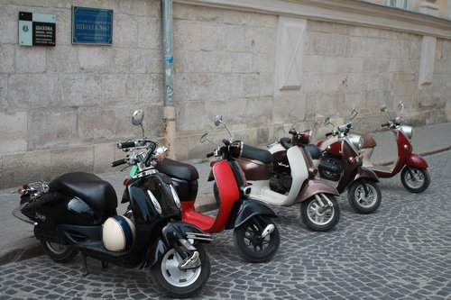mopeds  motorcycles  bike