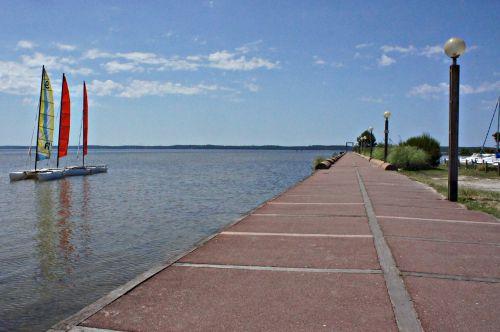 more water sailing boat