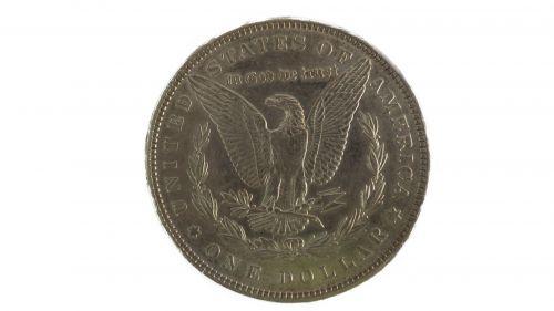 Morgan Silver Dollar Tail