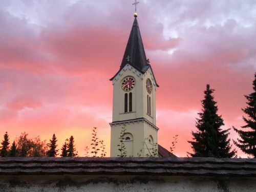 morgenrot sunrise church