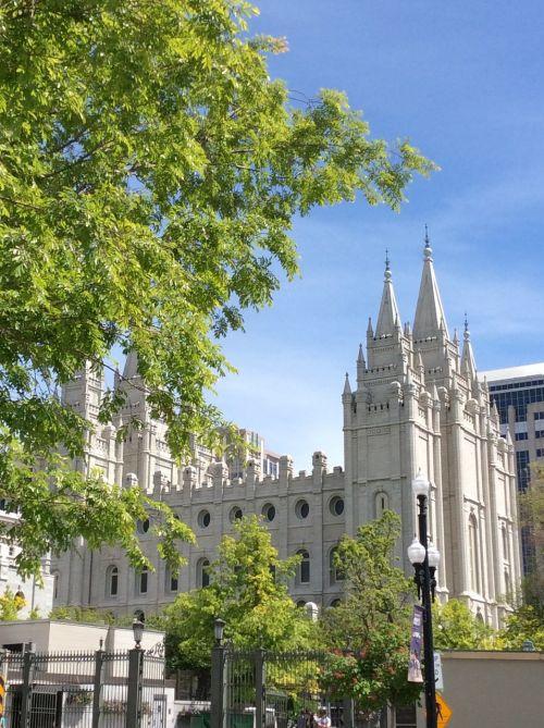 mormon temple salt lake
