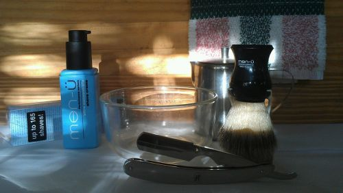 morning shave barberrazor