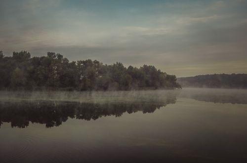 morning mist river