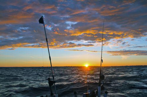 morning fishing fishing sunrise