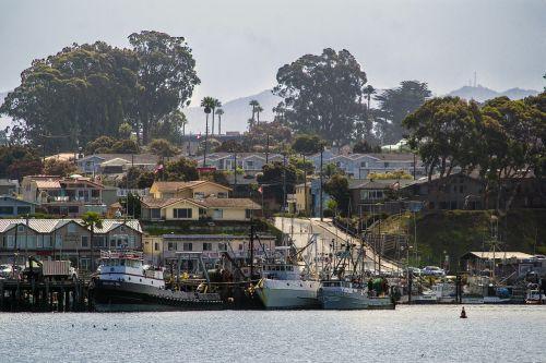 moro bay california shore