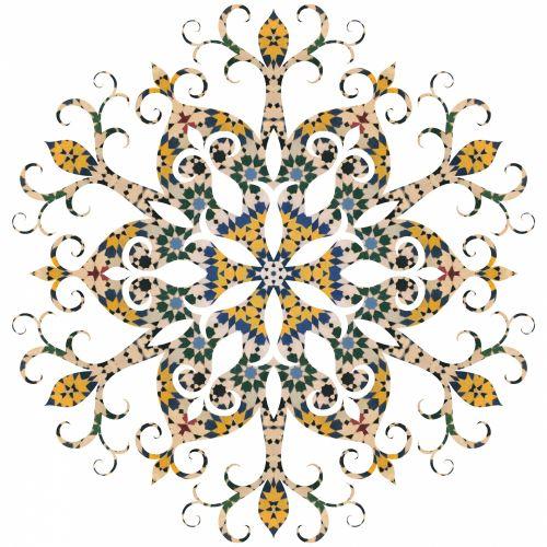 Moroccan Snowflake