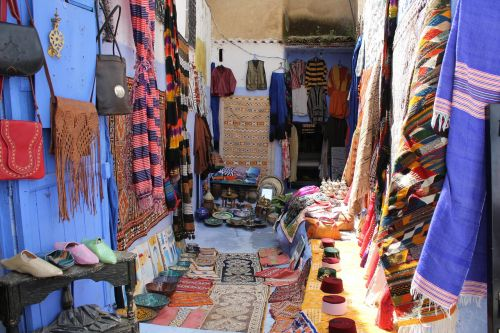morocco chefchaouen crafts