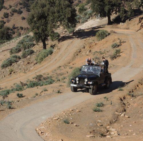 morocco atlas jeep