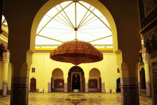 morocco marrakech palace