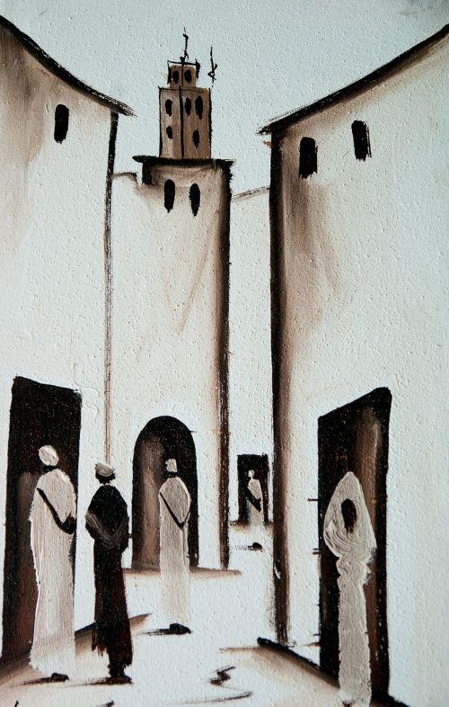 morocco lane medina