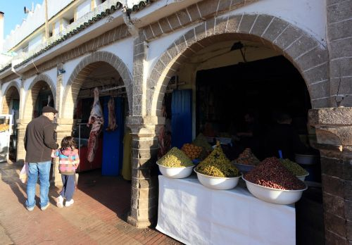 morocco essaouira market